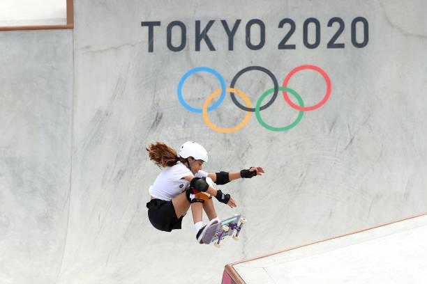 JPN: Skateboarding - Olympics: Day 12