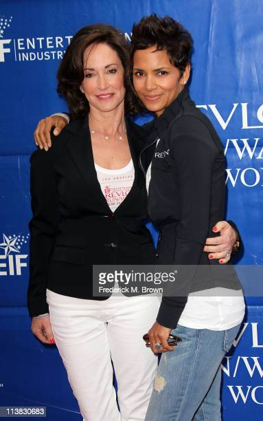 Lilly Tartikoff actress Halle Berry attend the 18th Annual EIF Revlon Run/Walk For Women on May 7 2011 in Los Angeles California