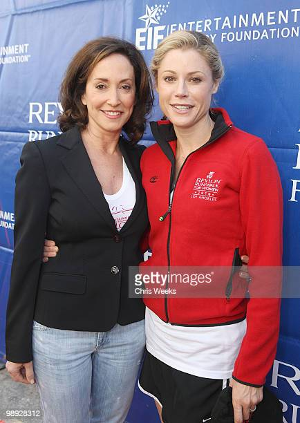 Lilly Tartikoff and actress Julie Bowen attend the 17th Annual EIF Revlon Run/Walk for Women on May 8 2010 in Los Angeles California