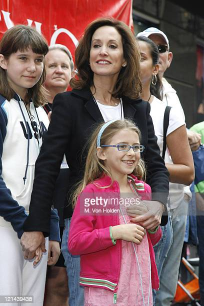 Lilly Tartikoff and family during EIF's 9th Annual Revlon Runwalk for Women in New York May 6 2006 in New York City New York United States