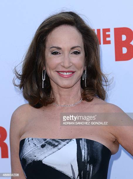 Lilly Tartikoff attends The Black Tie Dinner to celebrate The Broad Museum Opening in Los Angeles California on September 2015 AFP PHOTO/ CHRIS DELMAS