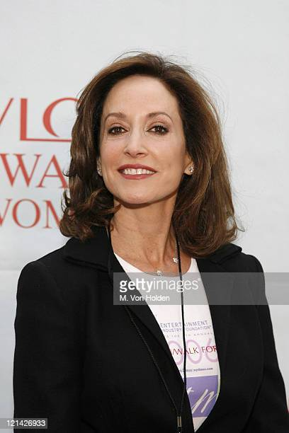 Lilly Tartikoff during EIF's 9th Annual Revlon Runwalk for Women in New York May 6 2006 in New York City New York United States