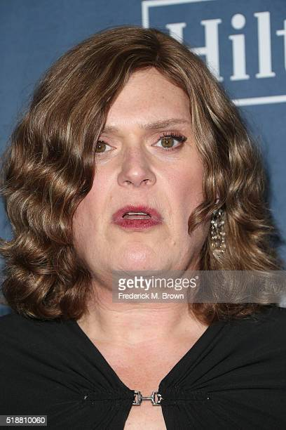 Lilly Wachowski attends the 27th Annual GLAAD Media Awards at the Beverly Hilton Hotel on April 2 2016 in Beverly Hills California