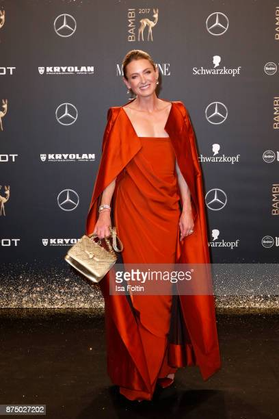 Lilly zu sayn Wittgenstein arrives at the Bambi Awards 2017 at Stage Theater on November 16 2017 in Berlin Germany