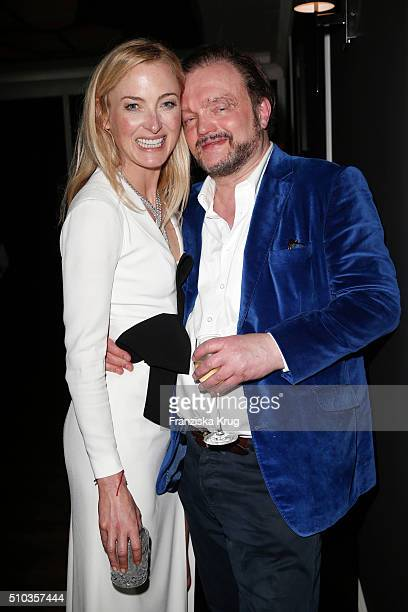 Lilly zu Sayn-Wittgenstein and Alexander zu Schaumburg-Lippe attend the Bulgari Night Of The Icons on February 14, 2016 in Berlin, Germany.