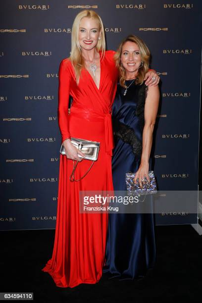 Lilly zu SaynWittgensteinBerleburg and Sanny van Heteren attend the Bulgari 'Night of the Legend' event during the 67th Berlinale International Film...