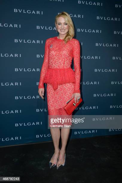 Lilly zu SaynWittgensteinBerleburg attends the 130 years of glam culture party by Bulgari at Kaufhaus Jandorf on February 11 2014 in Berlin Germany