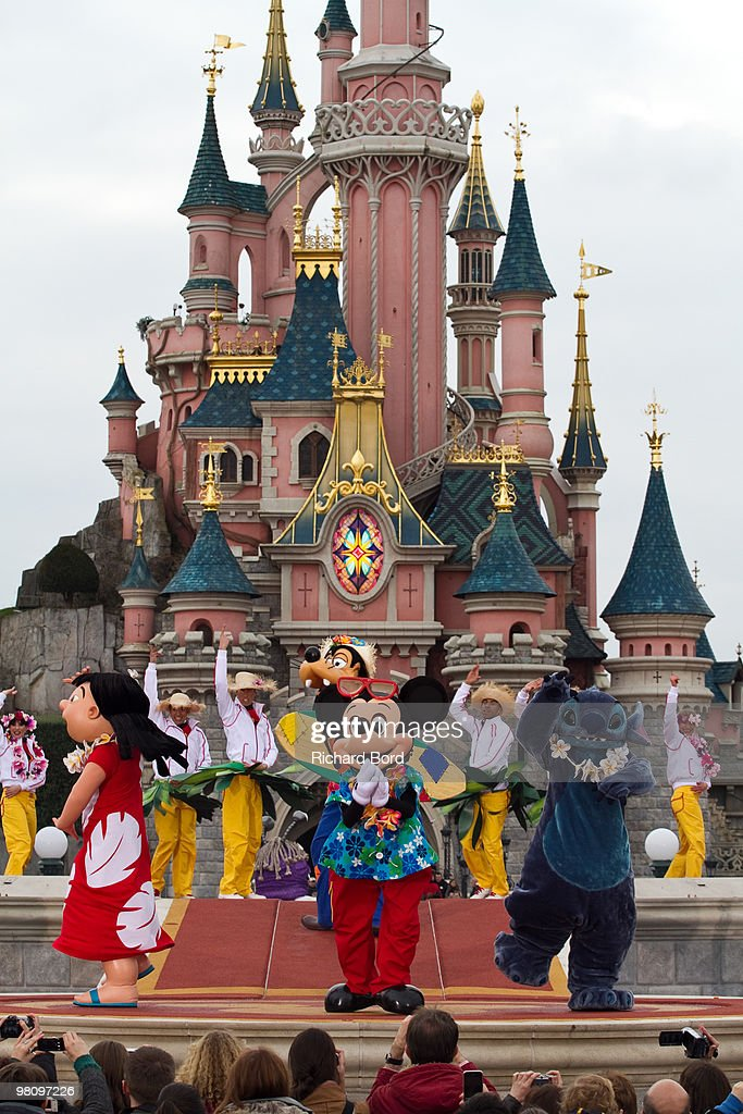 "Disneyland Paris Launches ""New Generation Year"" Attractions : News Photo"