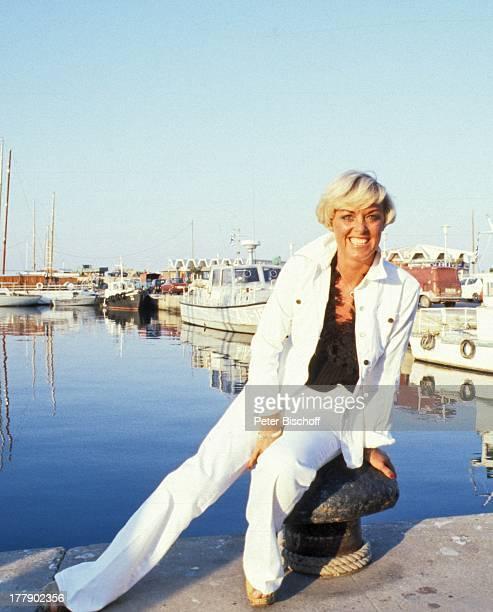 Lilo Kramm Insel Rhodos Dodekanes Griechenland Europa Urlaub Hafen Boot Schiff Meer Mittelmeer Anlegestelle MW/LG