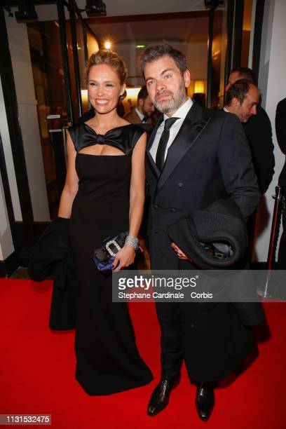 Lilou Fogli and Clovis Cornillac attend the Cesar Film Awards 2019 at Salle Pleyel on February 22 2019 in Paris France