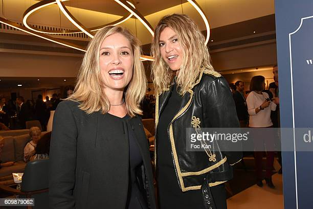 Lilou Fogli and Isabelle Funaro attend the Meredien Etoile Opening Party on September 22 on September 22 2016 in Paris France