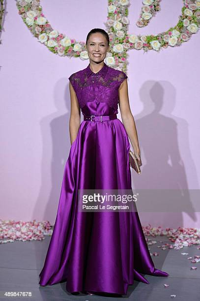 Lilou Fogli attends a photocall during The Ballet National de Paris Opening Season Gala at Opera Garnier on September 24 2015 in Paris France