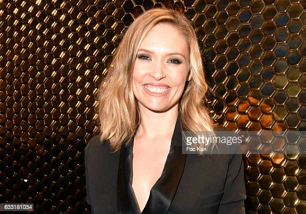 Lilou Fogli attends Les Globes de Cristal Awards 11th Ceremony at Lido on January 30 2017 in Paris France