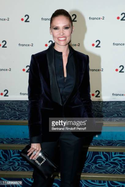 Lilou Fogli attends the 31eme Nuit des Molieres at Les Folies Bergeres on May 13 2019 in Paris France