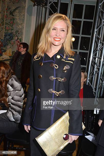 Lilou Fogli attends The Alexis Mabille show as part of Paris Fashion Week HauteCouture Spring/Summer 2015 on January 26 2015 in Paris France