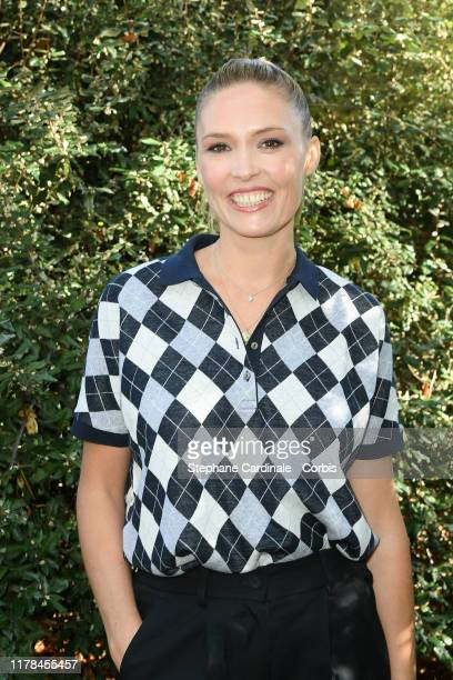 Lilou Fogli attends the Lacoste Womenswear Spring/Summer 2020 show as part of Paris Fashion Week on October 01 2019 in Paris France