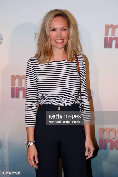 Lilou Fogli attends the Mon Inconnue Paris Premiere at Cinema UGC Normandie on April 01 2019 in Paris France