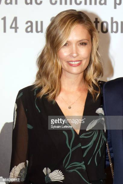 Lilou Fogli attends the photocall before The Lumiere Prize ceremony during 9th Film Festival Lumiere on October 20 2017 in Lyon France