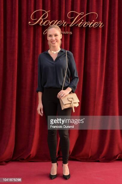 Lilou Fogli attends the Roger Vivier Presentation Spring/Summer 2019 during Paris Fashion Week on September 27 2018 in Paris France