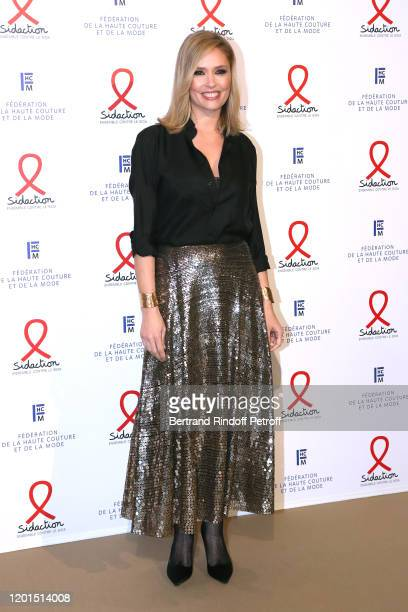 Lilou Fogli attends the Sidaction Gala Dinner 2020 at Pavillon Cambon on January 23 2020 in Paris France