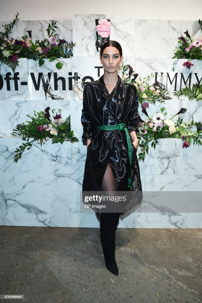 Holt Renfrew Celebrates The Launch Of Off White C/O Jimmy Choo Collection