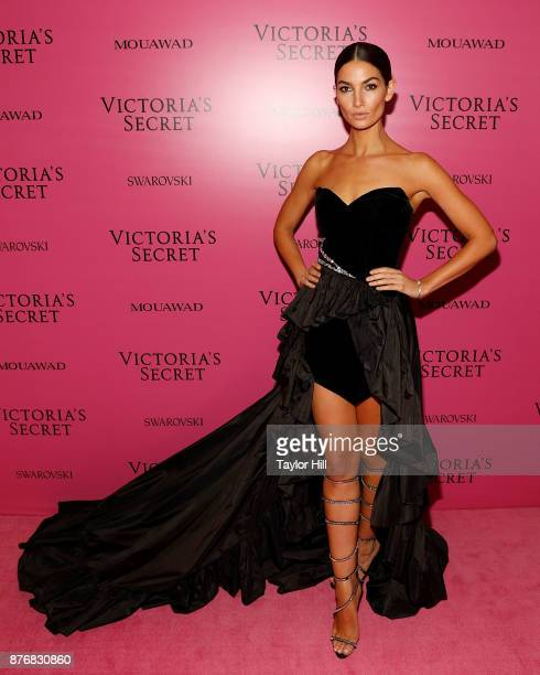 Lily Aldridge attends the 2017 Victoria's Secret Fashion Show After Party on November 20 2017 in Shanghai China