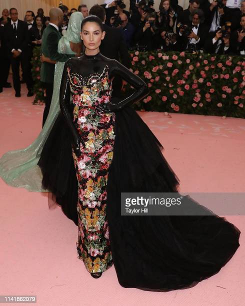 Lily Aldridge attends the 2019 Met Gala celebrating Camp Notes on Fashion at The Metropolitan Museum of Art on May 6 2019 in New York City