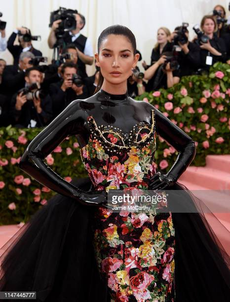 Lily Aldridge attends The 2019 Met Gala Celebrating Camp: Notes on Fashion at Metropolitan Museum of Art on May 06, 2019 in New York City.