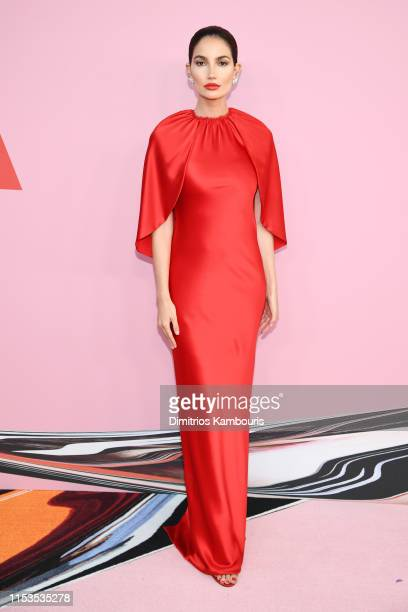 Lily Aldridge attends the CFDA Fashion Awards at the Brooklyn Museum of Art on June 03, 2019 in New York City.