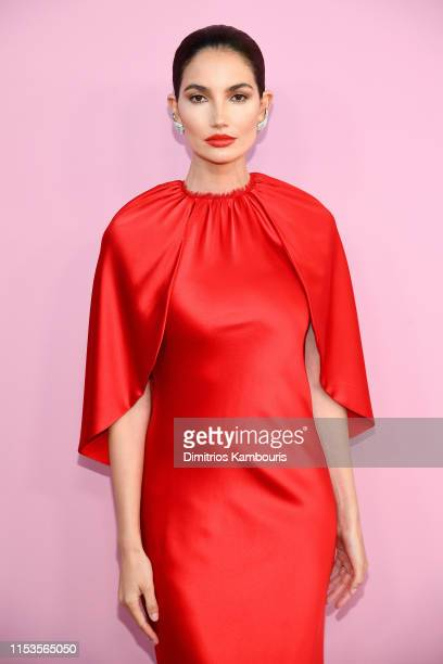 Lily Aldridge attends the CFDA Fashion Awards at the Brooklyn Museum of Art on June 03 2019 in New York City