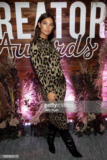 Lily Aldridge attends the Nashville Creator Awards hosted by WeWork at Marathon Music Works on September 13 2018 in Nashville Tennessee