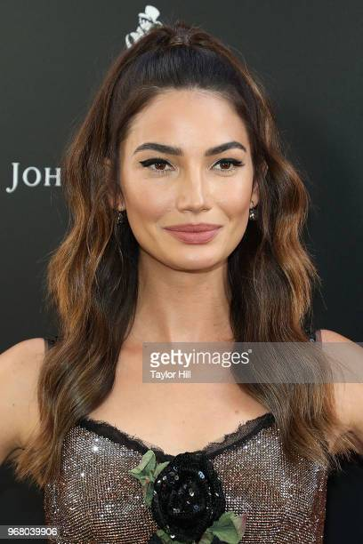 Lily Aldridge attends the world premiere of Ocean's 8 at Alice Tully Hall at Lincoln Center on June 5 2018 in New York City