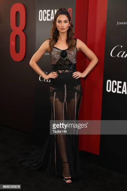 Lily Aldridge attends the world premiere of 'Ocean's 8' at Alice Tully Hall at Lincoln Center on June 5 2018 in New York City