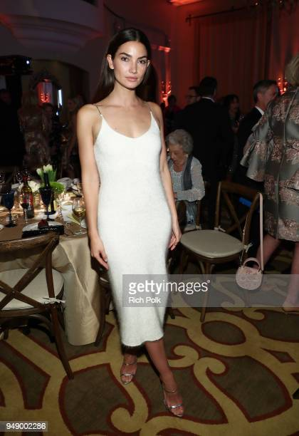 Lily Aldridge Followill attends the 2018 World of Children Hero Awards Benefit at Montage Beverly Hills on April 19 2018 in Beverly Hills California