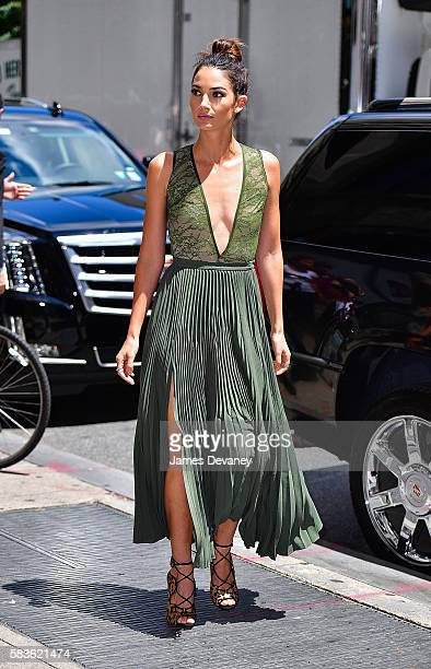 Lily Aldridge seen on the streets of Manhattan on July 26 2016 in New York City