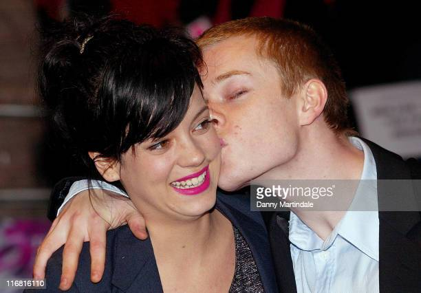Lily Allen and Alfie Allen attend the Brick Lane Gala Screening at The West End Odion London October 26