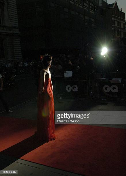 Lily Allen arrives for the GQ Men of the Year Awards at the Royal Opera House, Covent Garden on September 04, 2007 in London, England.