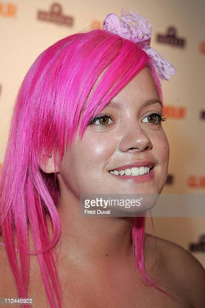 Lily Allen attends Glamour Women of the Year Awards at Berkeley Square Gardens on June 3 2008 in London England
