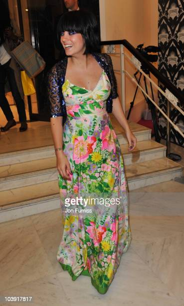Lily Allen attends Lucy In Disguise Pop-Up Shop at Selfridges as part of Fashion's Night Out on September 8, 2010 in London, England.