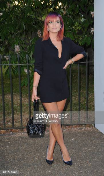 Lily Allen attends the annual Serpentine Galley Summer Party at The Serpentine Gallery on July 1 2014 in London England