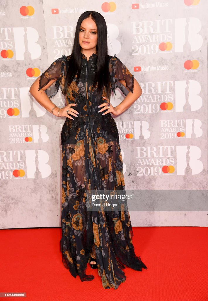 The BRIT Awards 2019 - VIP Arrivals : News Photo