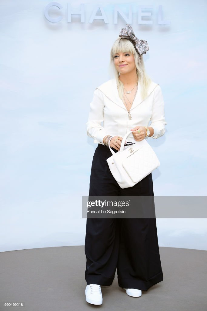 FRA: Chanel : Front Row - Paris Fashion Week - Haute Couture Fall Winter 2018/2019