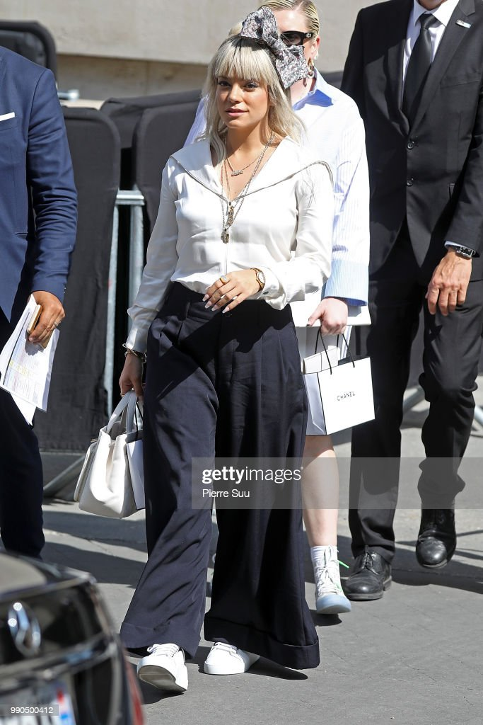 FRA: Chanel : Outside Arrivals - Paris Fashion Week - Haute Couture Fall Winter 2018/2019