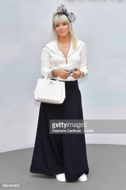 Lily Allen attends the Chanel Haute Couture Fall/Winter 20182019 show as part of Haute Couture Paris Fashion Week on July 3 2018 in Paris France