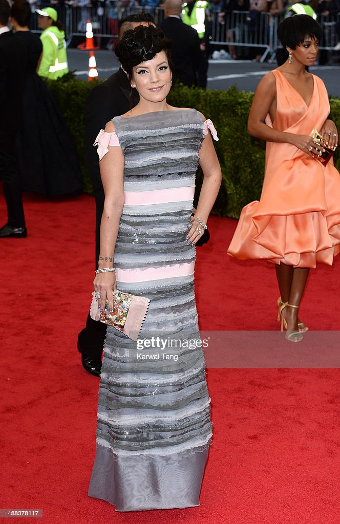 """Charles James: Beyond Fashion"" Costume Institute Gala - Arrivals"