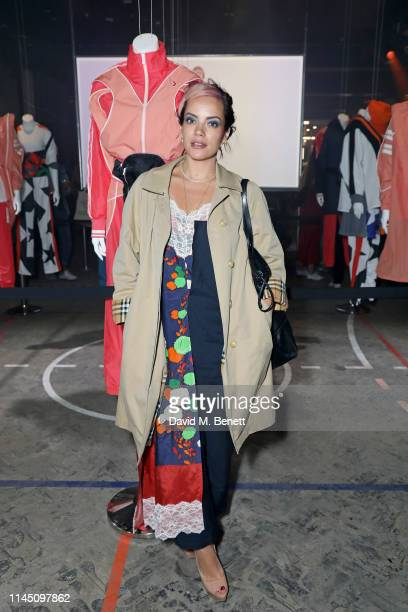 Lily Allen attends the Converse collaboration launch with Koche, Feng Chen Wang and Faith Connexion on April 25, 2019 in London, England.