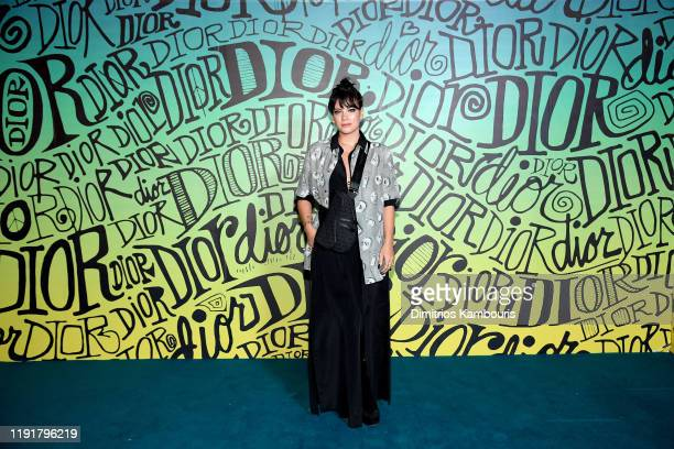 Lily Allen attends the Dior Men's Fall 2020 Runway Show on December 03 2019 in Miami Florida