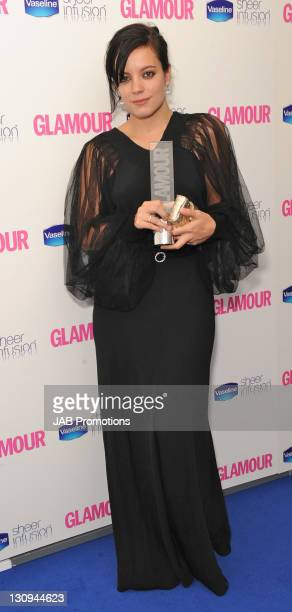 Lily Allen attends the Glamour Women of the Year awards at Berkeley Square Gardens on June 8, 2010 in London, England.