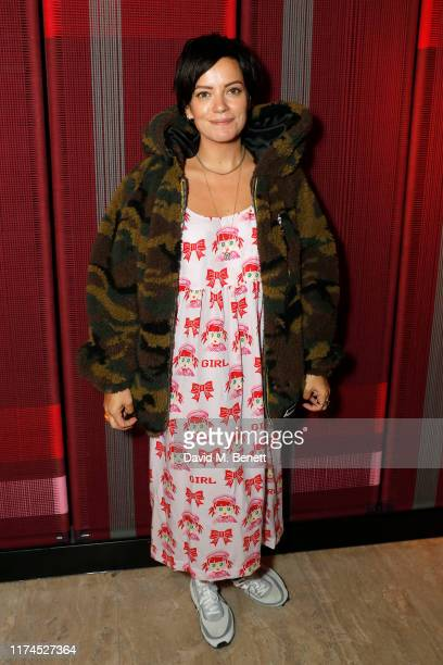 Lily Allen attends The Grand Opening of The Standard London on September 13 2019 in London England