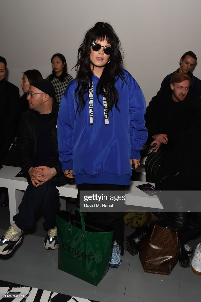GBR: Izzue - Front Row - LFW February 2019